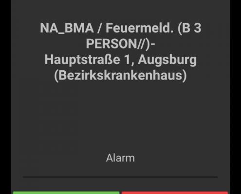 aPager PRO App Alarm Feuerwehr