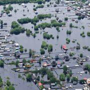 Pegelalarm bei Hochwasser