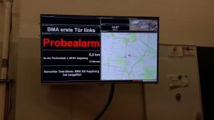 TV für AlarmMonitor 4 - Probealarm