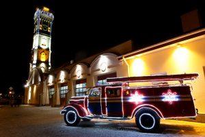 Vintage Feuerwehrfahrzeug