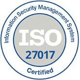 ISO 27017 Zertifikat
