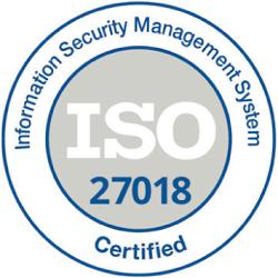 ISO 27018 Zertifikat
