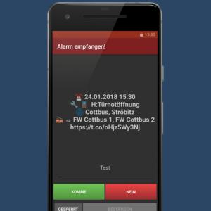 Emojis in aPager PRO App