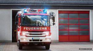 Torsteuerung für Feuerwehrfahrzeug
