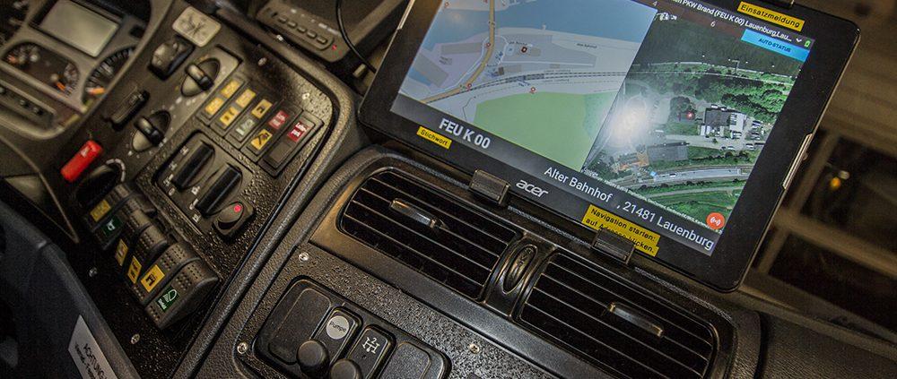 aMobile für Fahrzeugtablet