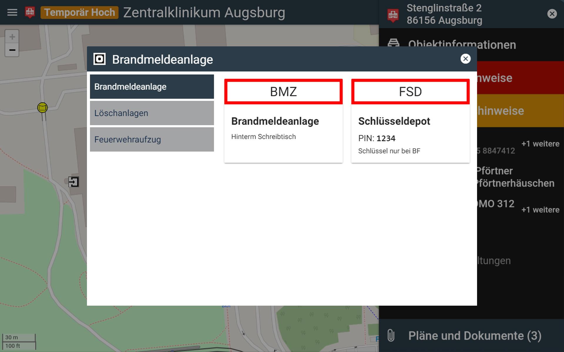 Informationen zur BMA übersichtlich dargestellt